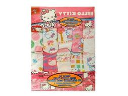 Hello Kitty 10 Girls Panties 100% Combed Cotton 100% Algodon