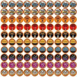 100 Regular and Flavored K-Cups Coffee Variety Pack for Keur