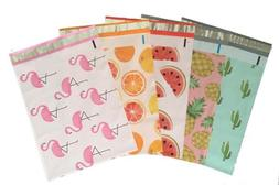 10x13  Coloful Variety Pack Designer Poly Mailers Shipping E