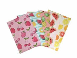 10x13 Fruits Variety Pack Designer Poly Mailers Shipping Env