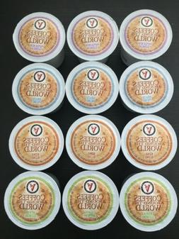 12 Victor Allen's K-Cups Brew Cups Pods Coffee Keurig 2.0 Sa