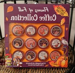 12 FLAVORS of FALL Collection K CUP VARIETY PACK!!!  K-Cups