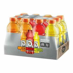 12 or 24 Gatorade 20 oz Bottles 3 Flavor Variety Pack - Oran