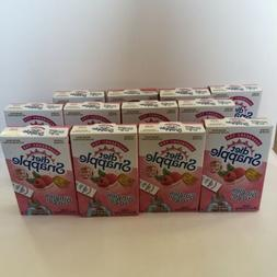 12 Pack Diet SNAPPLE Raspberry Soft Drink Mix 6 Stick In Eac