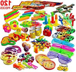 Reca 120 Kids Prizes Party Favors for Kids Party, Birthday P