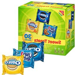 180-PACK Nabisco Cookie Variety Pack 180 pk. 6 BOXES of 30 p