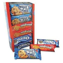 Nabisco Variety Pack Cookies, Assorted, Oreo, Chips Ahoy, 2