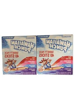 2 Hawaiian Punch Sugar Free Drink Mix Singles To Go Variety