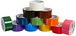 24 Roll Variety Pack Solid Colors  of All Purpose Duct Tape.