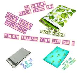 35 Poly Mailers Three Mix Size Variety Pack