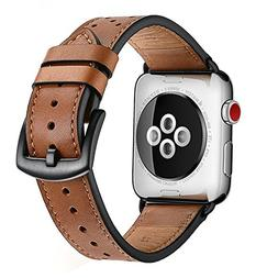 ZEIGER 38MM 40MM or 42MM 44MM Calfskin Leather Band for All