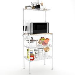 Lifewit 4-Tier Bakers Rack, Microwave Cart Oven Stand with H
