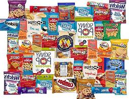 40 Count College Care Package Snacks Variety Pack - Individu