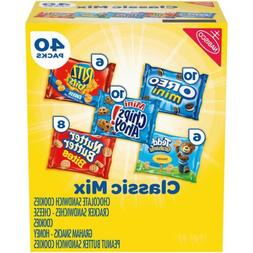 40 Pack - Nabisco Classic Mix Variety Pack
