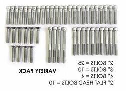 Escape Climbing 49 Stainless Steel Bolt Variety Pack | Inclu