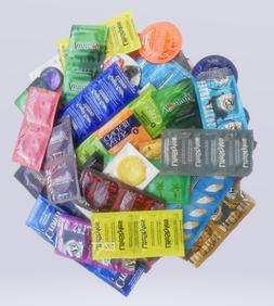 100 CONDOMS  Lifestyles, Crown, One & More Condoms Variety P