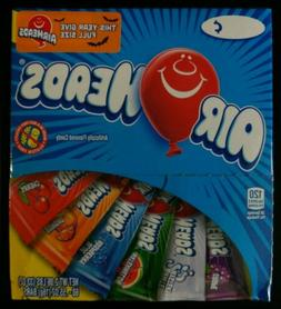 AIRHEADS 60 Count .55oz Bars 2.06lb Net Wt Assorted Flavors