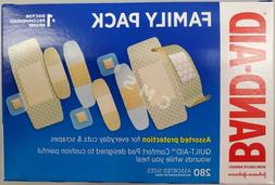 BAND-AID Assorted Bandages Strips Clear Sheer Variety Pack 2