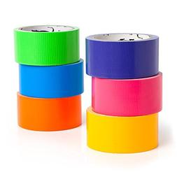 GatorCrafts NEW: Multi Colored Duct Tape - Variety Pack -6 C