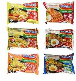 Indomie Variety Pack - 6 Flavors in 1 Case