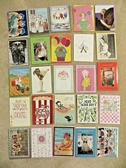 NEW ~ ASSORTED BIRTHDAY CARDS ~ PACK OF 25 CARDS with / ENVE