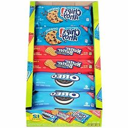Nabisco Variety Pack Cookies, Assorted 12ct - Pack of 3