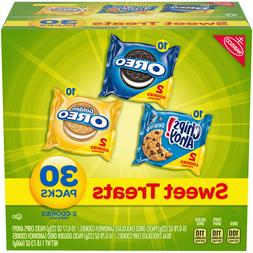 Nabisco Variety Pack Cookies, Sweet Treats, 30 Count