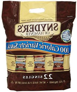 Snyder's of Hanover 100 Calorie Pretzel Tray Pack - Variety