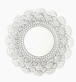 Variety Pack 100 ct. Round Paper Lace Doilies 8 inch & 10 in