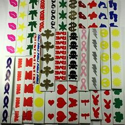 Variety Pack Randomly Selected Stickers 100CT Sellers Choice