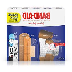 Band-Aid Brand Adhesive Bandage Variety Pack for First Aid a