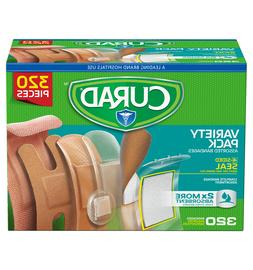 CURAD Assorted Bandages Variety Pack - 320 Pieces