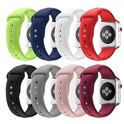 SHJD Band Replacement Set Compatible with Apple Watch 38mm 4