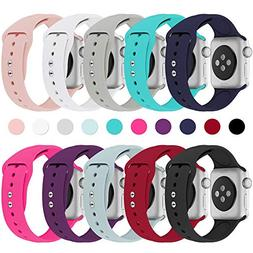 Haveda Bands Compatible with Apple Watch Band 38mm 40mm, Sof