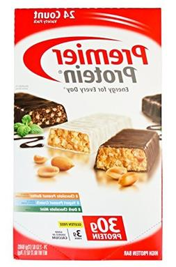 Premier Protein Bar Variety Pack - Chocolate Peanut Butter,