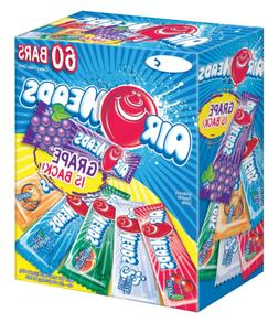 Airheads Bars Variety Pack  Full-size Chewy Candy Flavors Gl