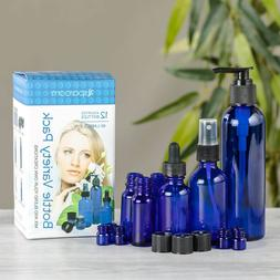 Blue Apothecary Essential Oil Variety Pack Bottles Container