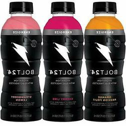 BOLT24 Fueled by Gatorade 3-Flavor Variety Pack Energize Wit