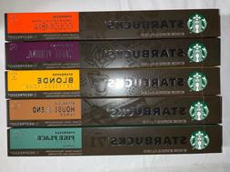 STARBUCKS by Nespresso Favorites Variety Pack 50-count Singl