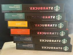 Starbucks by Nespresso Favorites Variety Pack, 57-count sing