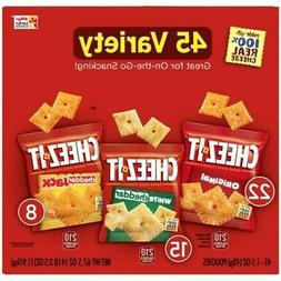 Cheez-It Snack Crackers Variety Pack