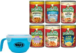Chef Boyardee Variety Pack 6 Different Flavors with By The C