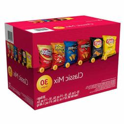 Frito Lay Classic Mix Chips, Variety Pack, 30 count - 2 DAY