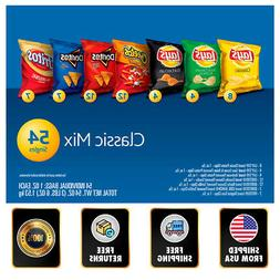 Frito Lay Classic Mix Variety Pack  54 Count Best Snack Free