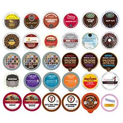 30-count TOP BRAND COFFEE K-Cup Variety Sampler Pack, Single