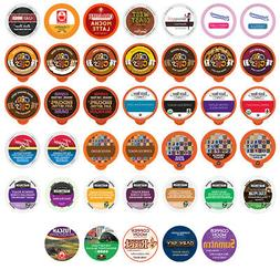 Coffee Single Serve Cups For Keurig K cups Variety Pack Samp