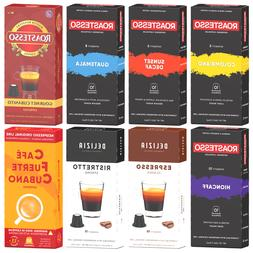 Roastesso Coffee Variety Pack Pods Nespresso Compatible Orig