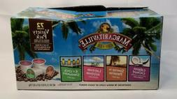 Margaritaville Coffee Variety Pack, Single Serve Brew Cups 7