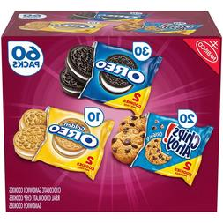 Nabisco Cookie Variety Pack  New!! Will Ship Next Day!