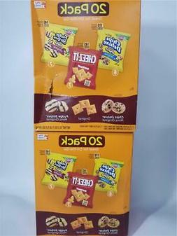 Keebler, Cookies and Crackers, Variety Pack, 21.2 oz 20 Coun